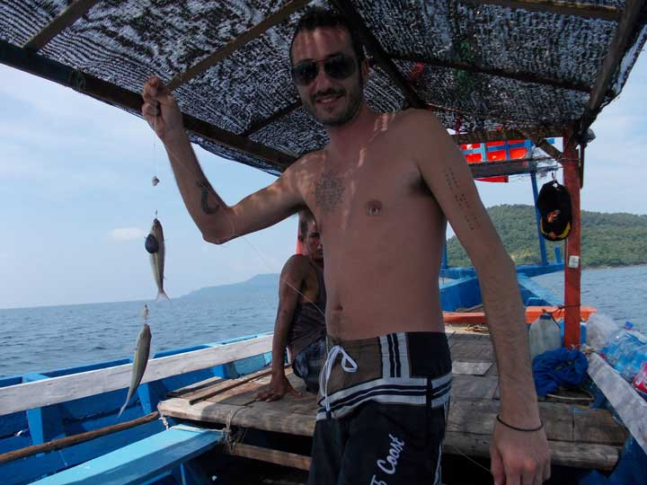 koh rong fishing