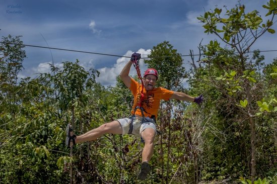 high-point-rope-park adventure in koh rong