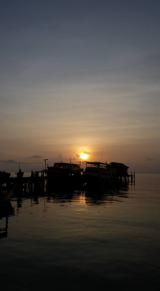 sunset koh rong 2